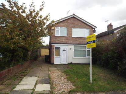 3 Bedrooms Detached House for sale in Windrush Drive, Oadby, Leicester, Leicestershire