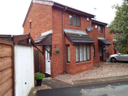 2 Bedrooms Semi Detached House for sale in Carders Close, Leigh, Greater Manchester