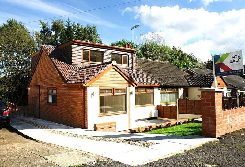 4 Bedrooms Semi Detached Bungalow for sale in 16 Ferndale Close, Oldham