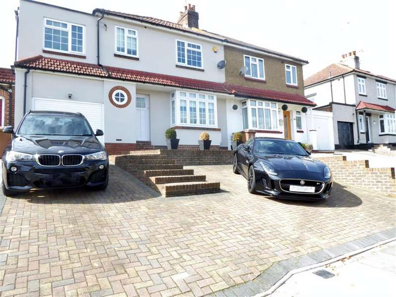 5 Bedrooms Semi Detached House for sale in Westfield Road , Barnehurst, Kent , DA7 6LR
