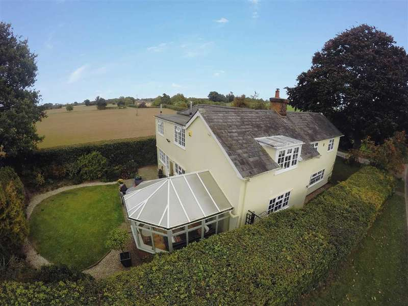 4 Bedrooms Cottage House for sale in Hadleigh Road, Holton St Mary, Suffolk, CO7 6PE