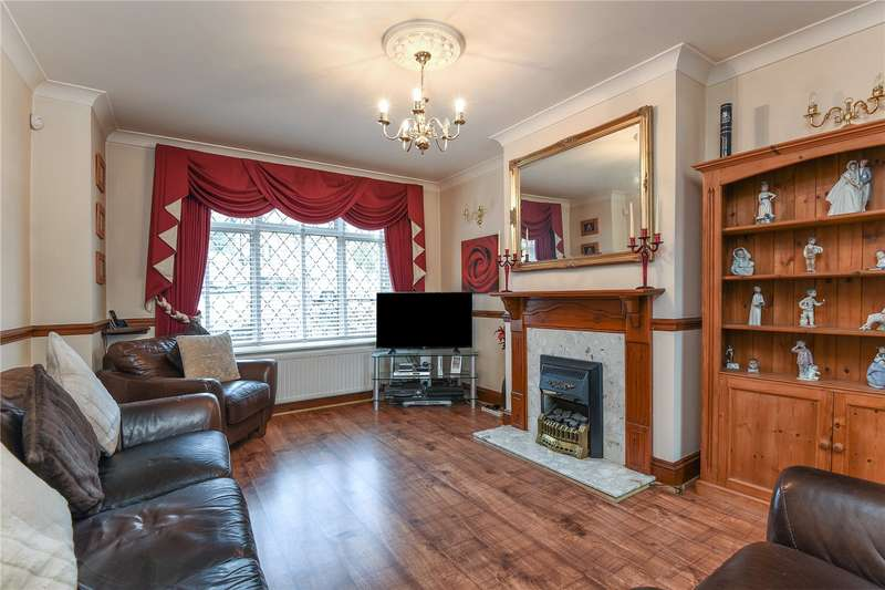 3 Bedrooms End Of Terrace House for sale in Bourne View, Greenford, Middlesex, UB6