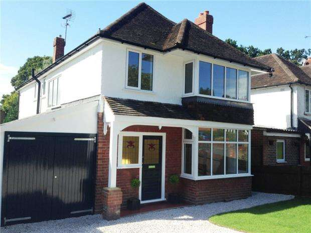 4 Bedrooms Detached House for sale in Salisbury Road, Farnborough, Hampshire