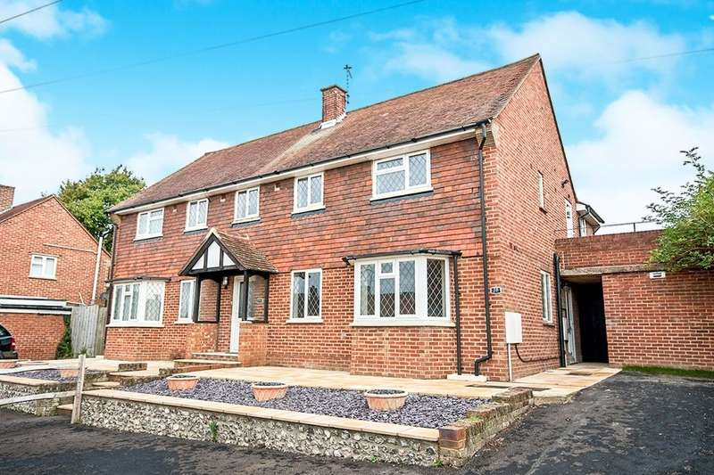 4 Bedrooms Semi Detached House for sale in Bowley Road, Hailsham, BN27