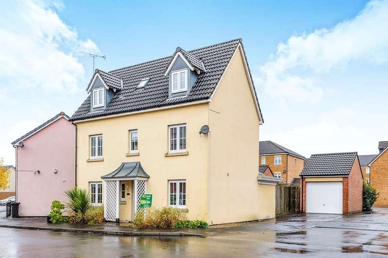 4 Bedrooms Detached House for sale in Clos Cwm Golau, Gelli Dawel, Merthyr Tydfil