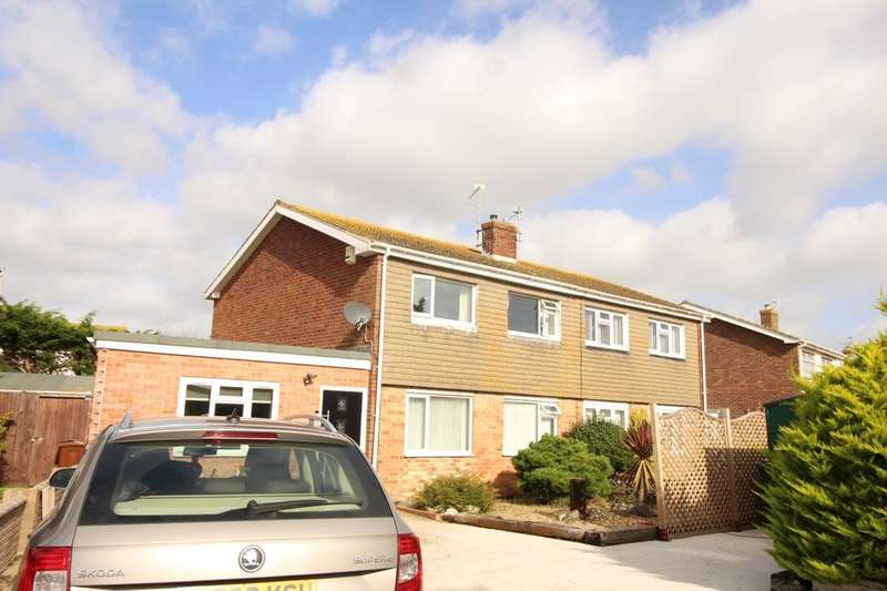 3 Bedrooms Semi Detached House for sale in Drake Avenue, Eastbourne, BN23
