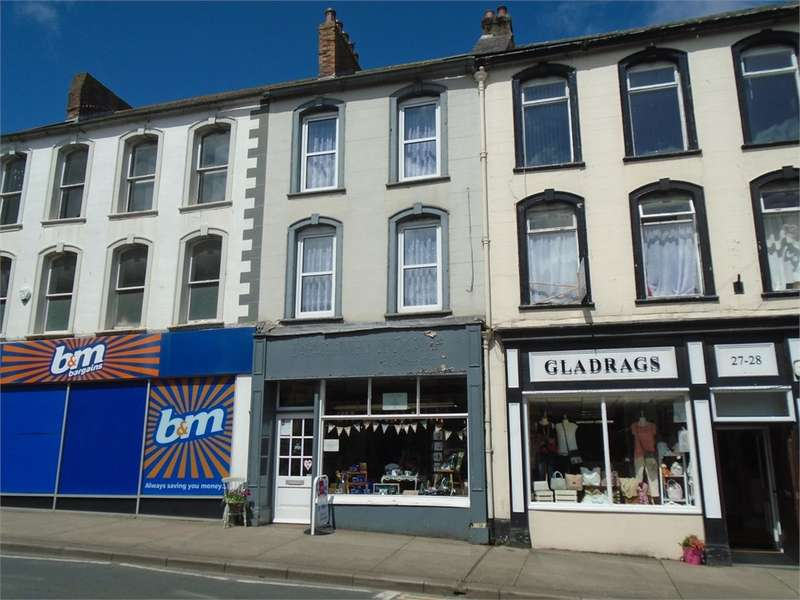 2 Bedrooms Maisonette Flat for sale in CA7 9DT King Street, Wigton, Cumbria