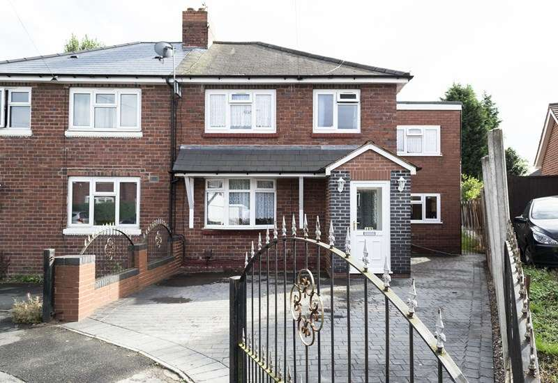 4 Bedrooms Semi Detached House for sale in Harrold Road, Rowley Regis