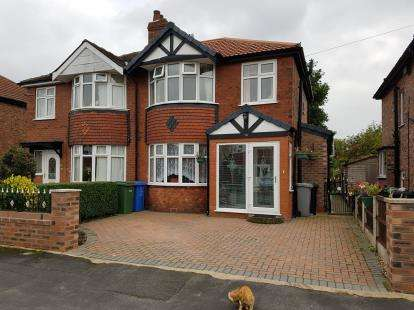 House for sale in Leicester Avenue, Timperley, Altrincham, Greater Manchester