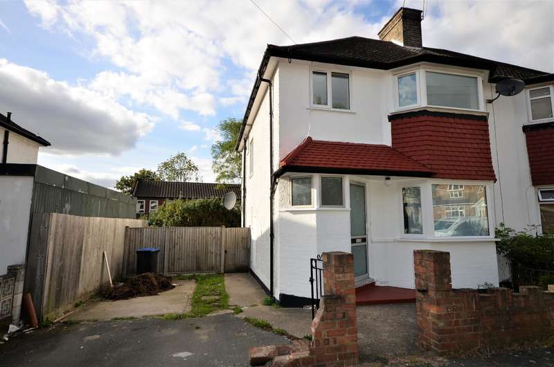 3 Bedrooms Semi Detached House for sale in Victoria Court, Wembley, Middlesex, HA9 6QJ