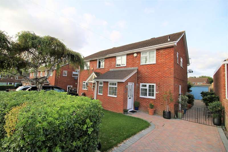 3 Bedrooms Semi Detached House for sale in Loveridge Close, Harrow Way, Basingstoke, RG21