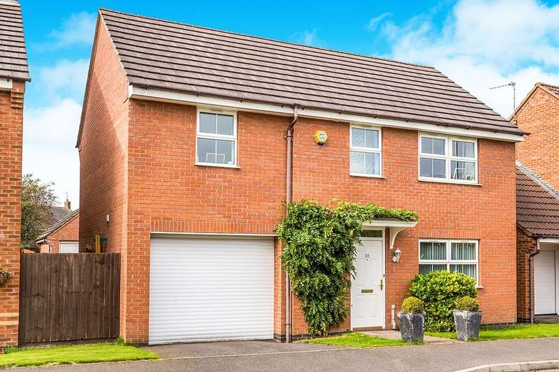 4 Bedrooms Detached House for sale in Chandlers Croft, Ibstock, LE67