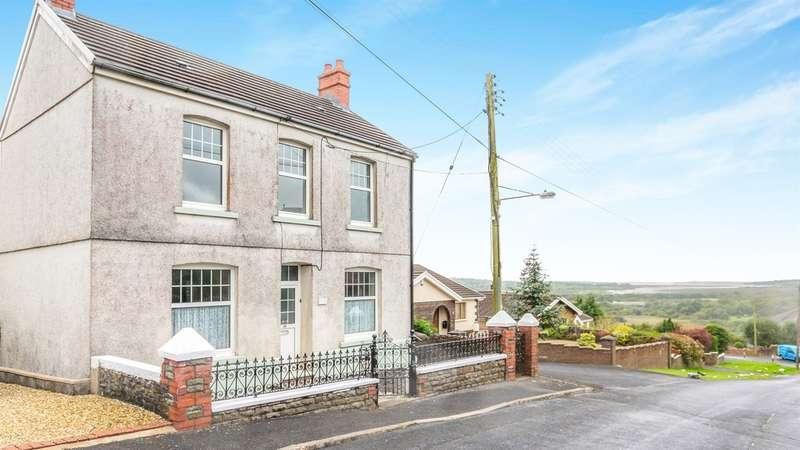 3 Bedrooms Detached House for sale in Bronallt Road, Hendy, Swansea
