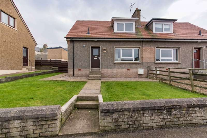 2 Bedrooms Semi Detached House for sale in Fountain Park, Banff, Aberdeenshire, AB45 1JS