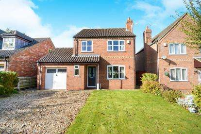 3 Bedrooms Detached House for sale in Rectory Close, Potterhanworth, Lincoln, Lincolnshire