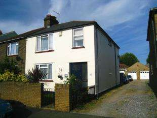 3 Bedrooms Semi Detached House for sale in Knockhall Chase, Greenhithe, Kent