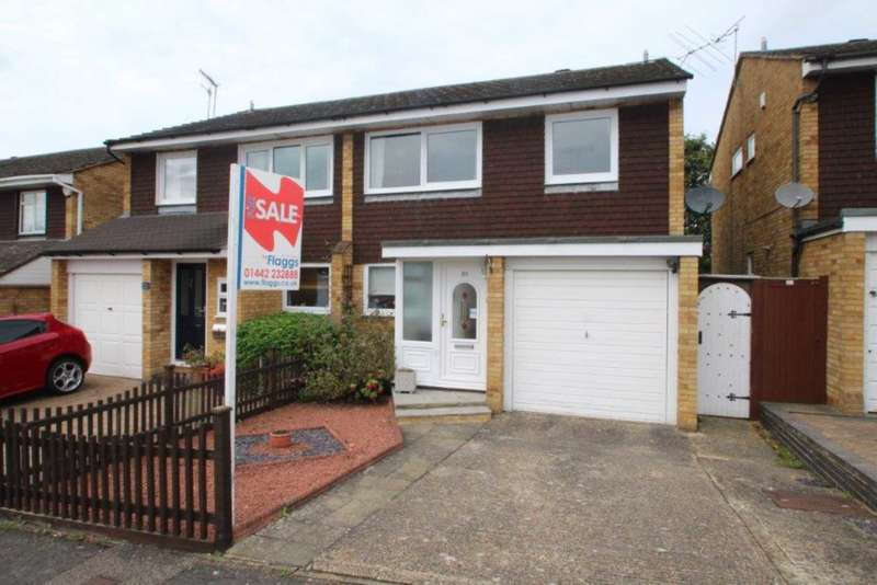 3 Bedrooms Semi Detached House for sale in 3 BED SEMI WITH GARAGE & NO UPPER CHAIN CLOSE TO TRAIN STATION