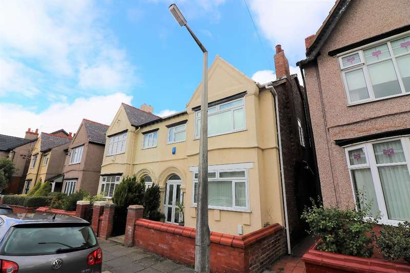 4 Bedrooms Semi Detached House for sale in Knowsley Road, Wallasey, CH45 4PX