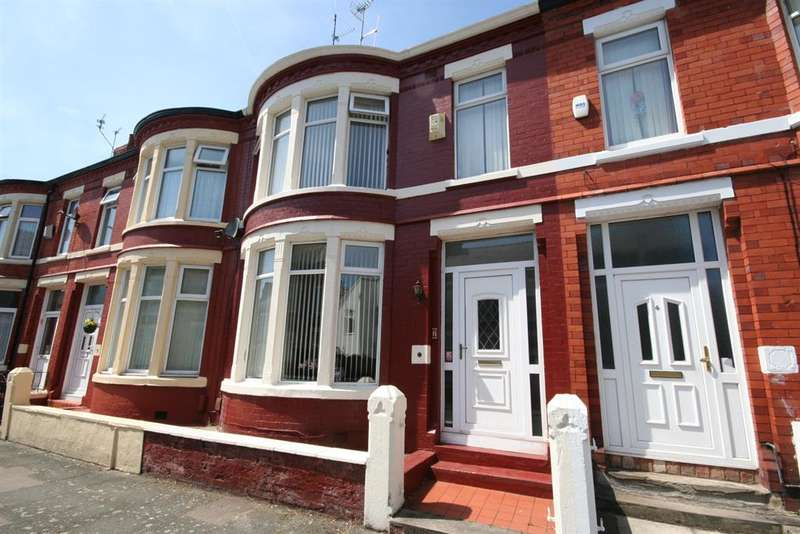 3 Bedrooms Terraced House for sale in Lumley Road, Wallasey, CH44 9AB
