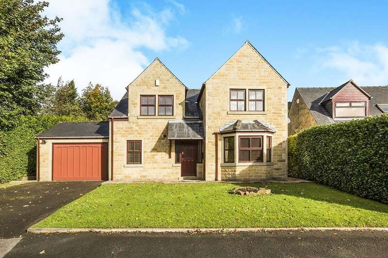 4 Bedrooms Detached House for sale in Brier Hey Lane, Mytholmroyd, Hebden Bridge, HX7