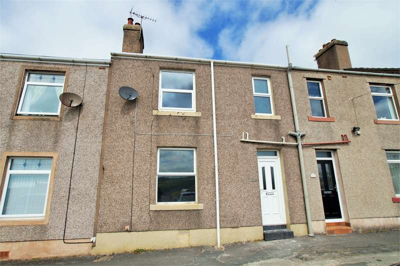 3 Bedrooms Terraced House for sale in CA28 6QB Solway Road, Lowca, Whitehaven, Cumbria