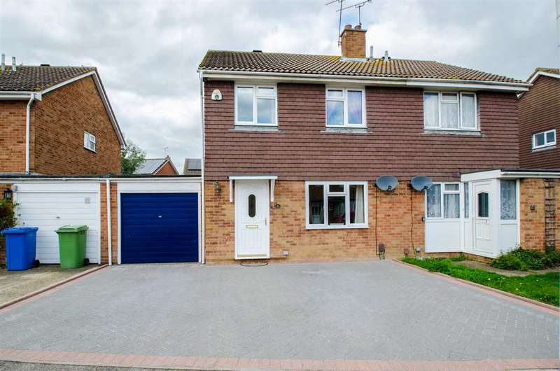 3 Bedrooms Semi Detached House for sale in Richmond Drive, Sittingbourne