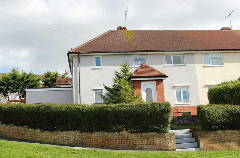 3 Bedrooms Semi Detached House for sale in Cuckmere Way, Brighton
