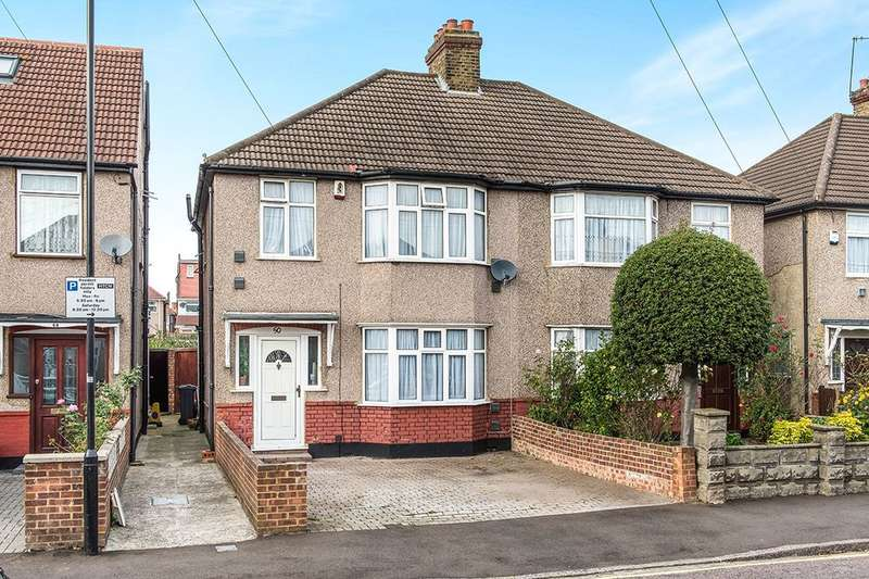 3 Bedrooms Semi Detached House for sale in Kingsley Avenue, Hounslow, TW3