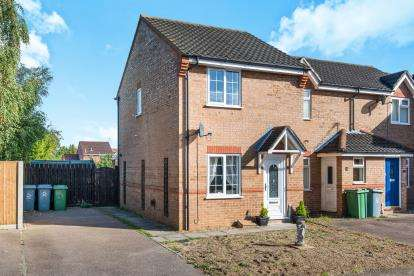 2 Bedrooms End Of Terrace House for sale in Taverham, Norwich, Norfolk