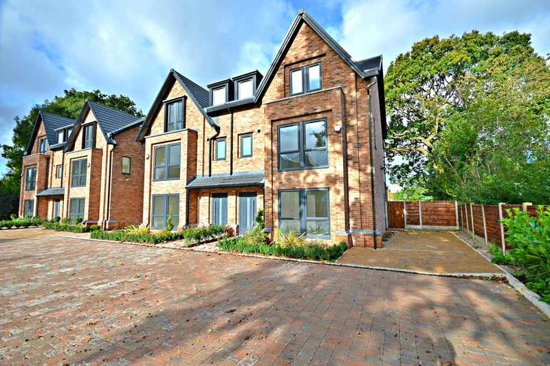 4 Bedrooms Semi Detached House for sale in 8 Manor Place, Albert Road, Cheadle Hulme
