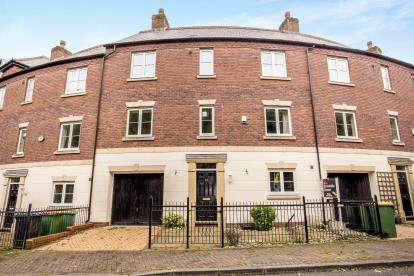 4 Bedrooms Terraced House for sale in Danvers Way, Fulwood, Preston, Lancashire, PR2