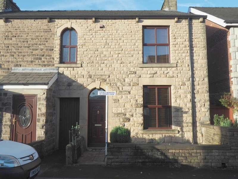 2 Bedrooms Semi Detached House for sale in Hayfield Road, Chapel-en-le-Frith, High Peak, Derbyshire, SK23 0JF