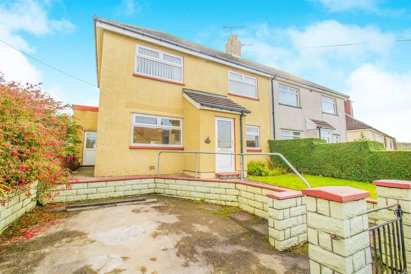 3 Bedrooms Semi Detached House for sale in Pant Y Fid Road, Aberbargoed, Bargoed