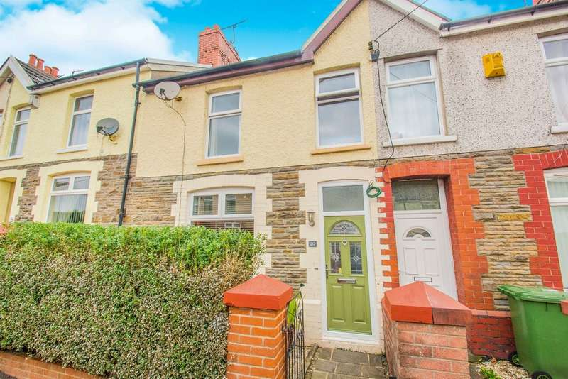 3 Bedrooms Terraced House for sale in Llwyn On Street, Caerphilly