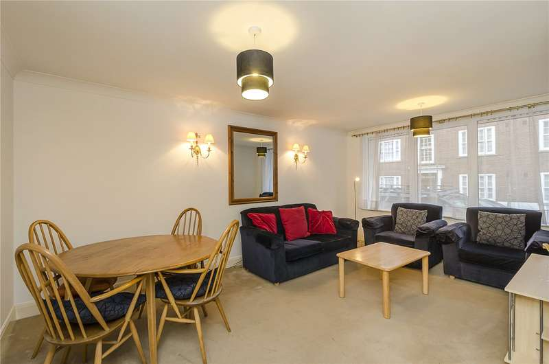 2 Bedrooms Flat for sale in Regency Court, Regency Street, London, SW1P