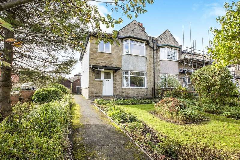 3 Bedrooms Semi Detached House for sale in Caldene Avenue, Hebden Bridge, HX7