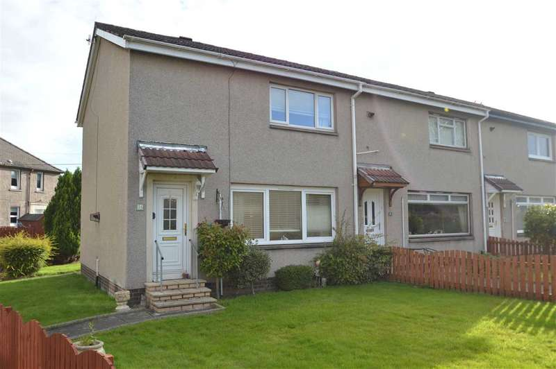 2 Bedrooms End Of Terrace House for sale in Dorain Road, Newarthill, Motherwell