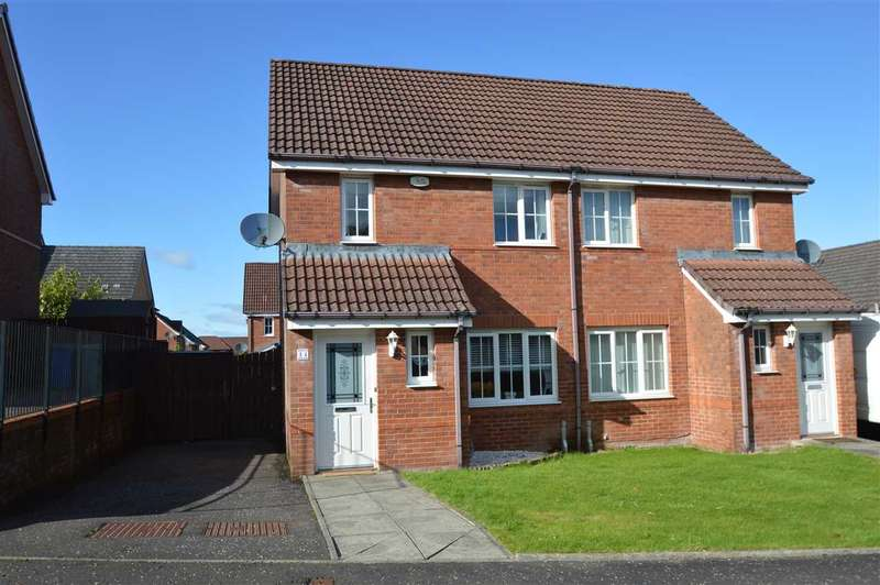 2 Bedrooms Semi Detached House for sale in Newmilns Gardens, Blantyre