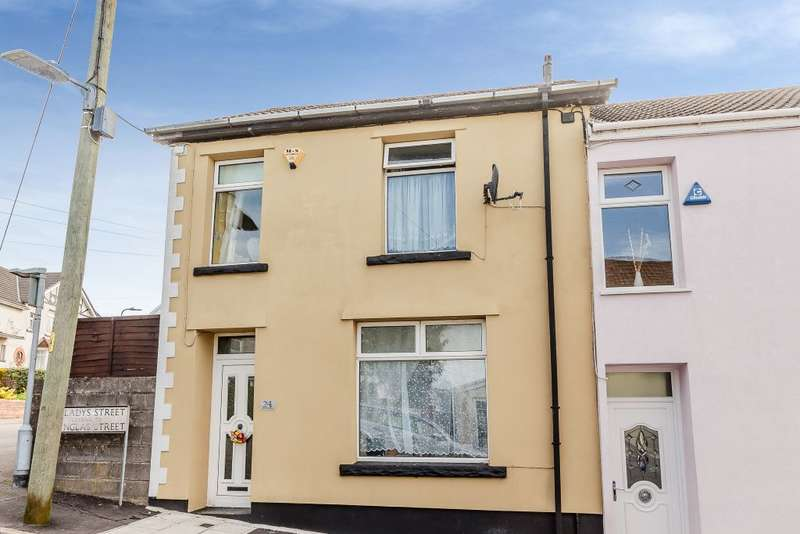 3 Bedrooms Terraced House for sale in Gwladys Street, Merthyr Tydfil, Mid Glamorgan CF47