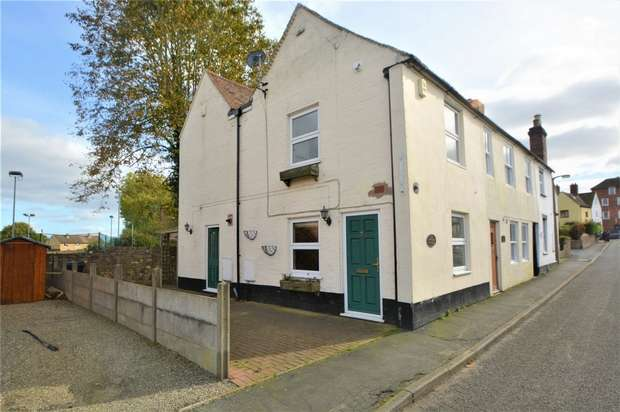 2 Bedrooms End Of Terrace House for sale in 52 King Street, Broseley, Shropshire