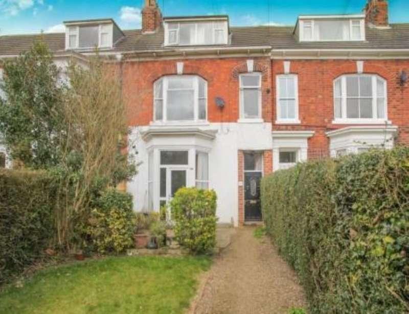 4 Bedrooms Maisonette Flat for sale in Suffolk Terrace, Hornsea, North Humberside, HU18 1BT