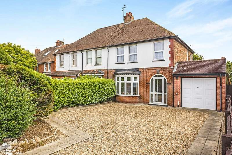 3 Bedrooms Semi Detached House for sale in Canterbury Road, Kennington, Ashford, TN24