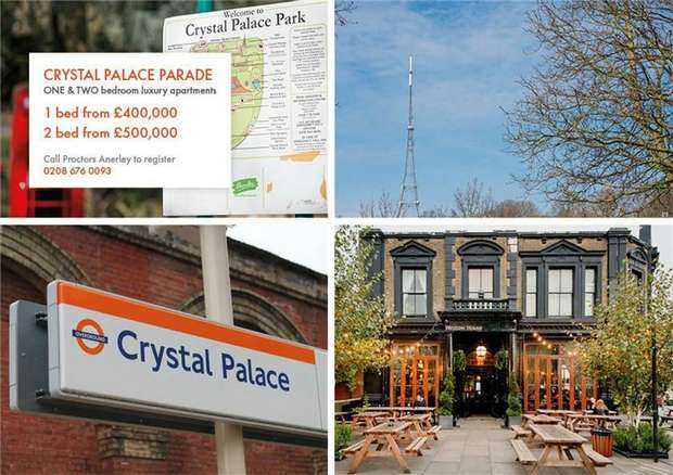 2 Bedrooms Flat for sale in Westow Hill / Crystal Palace Parade, Crystal Palace, London