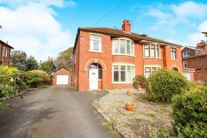 3 Bedrooms Semi Detached House for sale in Heeley Road, Lytham St Annes, Lancashire, England, FY8