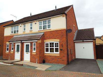 3 Bedrooms Semi Detached House for sale in Nuthatch Close, Heath Hayes, Cannock, Staffordshire