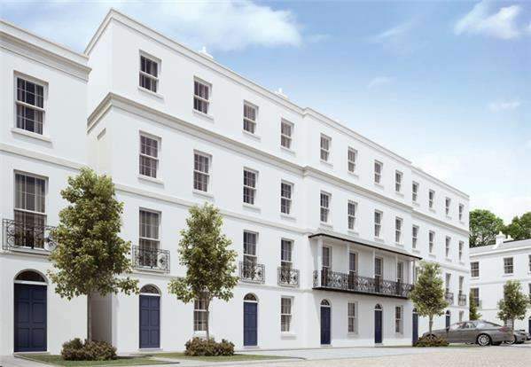4 Bedrooms Town House for sale in Plot 90, The Winchcombe, Regency Place, CHELTENHAM, Glos, GL52 2LZ