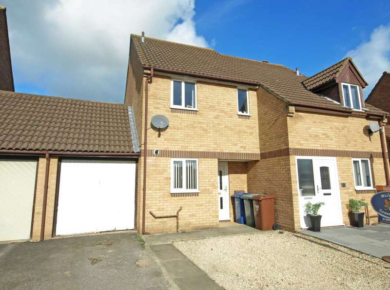 2 Bedrooms Semi Detached House for sale in Harrier Way, Bicester