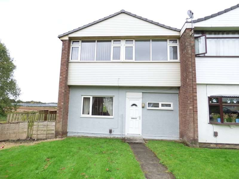 3 Bedrooms End Of Terrace House for sale in Maple Close, Bolton, Greater Manchester, BL4
