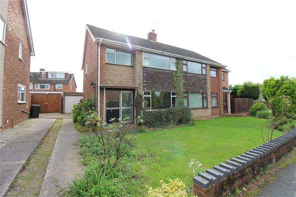 4 Bedrooms Semi Detached House for sale in Buckhold Drive, Allesley Park, Coventry