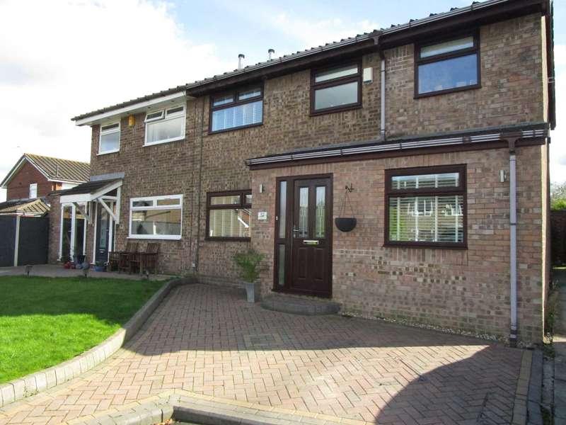 4 Bedrooms Semi Detached House for sale in Bullcote Green, Heyside